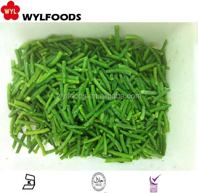 Вкусный массовая замороженные зеленые бобы