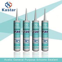 Acetic & Multi Use Transparent Silicone Sealant