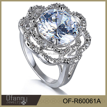 2015 Fashion Jewelry Wedding Ring,engagement ring,silver jewelry