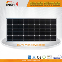 Hot Selling Custom Made 150W 12V Solar Panel