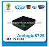 DVB S2 Android tv box AML8726-MX 1080p XBMC HDMI