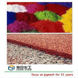 Factory ISO Certified paint iron oxide asphalt price ton