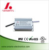 output 12v to 24v waterproof constant current 2000ma led driver with aluminum case