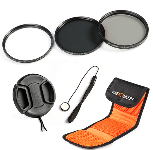 58 mm UV Filter 58mm UV Filter Canon EF 28-105mm f//3.5-4.5 II USM 58mm Ultraviolet Filter Protective Glass 58mm HD MC UV Filter for