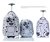 kids animal hard shell luggage baby travel bag/suitcase for sale