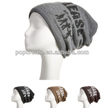 100%acrylic Multi-functional five-pointed star brown hat