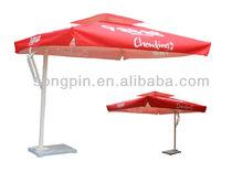 Cantilever Hanging Garden Umbrella/ Square Parasol/Sublimated printing