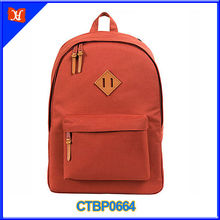 High Quality Canvas School Backpack Laptop Canvas Backpack