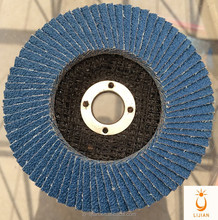 Zirconia grinding flap disc for grinding stainless steel