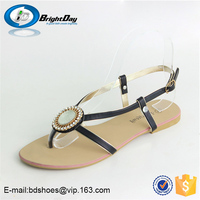 2015 lesisure flat sandals new arrival women's ladies shoes sandals and sleepers