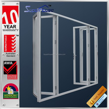 superhouse australia AS2047 standard commercial sp80 model bifolding style aluminum exterior door