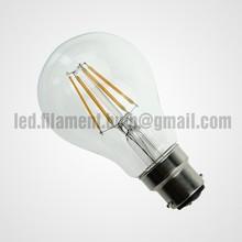Decorative B22 lamp cap A60 4W Led Filament Bulb