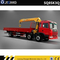 XCMG SQ8SK3Q 8 Ton Lifting Capacity, Mobile Hydraulic Crane for Truck