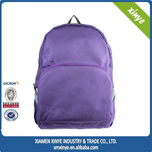 2015 Fashion Korean style colorful large size zipper school backpack travel backpack bag