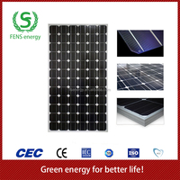 High quality 290w TUV/CE/IEC/MCS Approved Mono Crystalline Power Solar Panel,EU Stock Solar System Use