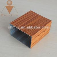 OEM hot selling bend aluminum square tube
