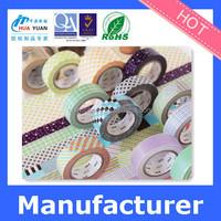 Thin yellow washi masking tape for automotive car painting use