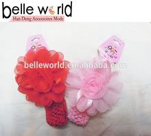 moda barata de bebé ganchillo diadema