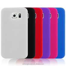 Wholesale Cell Phone Plain Silicon Case For Samsung Galaxy S6