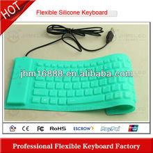 86 keys flexible silicone learn computer keyboard