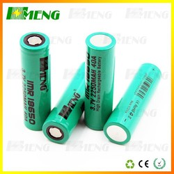 HMENG 2250 mah battery supplier,18650 vape mod battery wholesale
