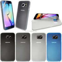 0.3mm Ultra Thin PC Clear Back Case Cover For Samsung Galaxy S6 + Free Screen Protector
