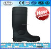 Safety gumboot with steel toe cap,PVC Safety gumboot,Black Safety gumboot