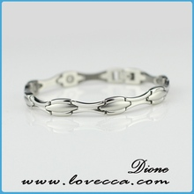 Hot Sale 316L Stainless Steel Bio Elements Positive magnetic bracelets sports