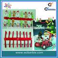 feliz navidad clip de madera de regalo de navidad