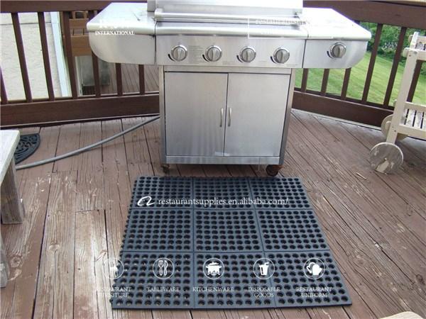 Fabulous antifatigue en caoutchouc tapis de sol drainage tapis antidrapant tapis de bain utilis for Tapis de sol cuisine moderne