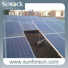 solar energy system concrete base mounting bracket /rack/structure