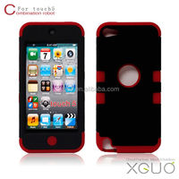 Newest hard back pc case for touch5 case ,for touch5 cover Top Quality
