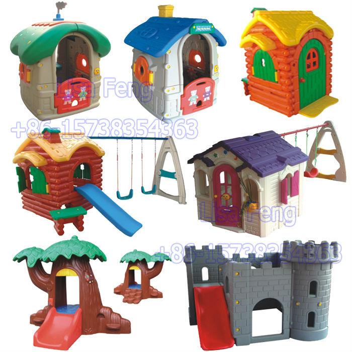 Indoor playground barato de madera casa de juegos ni os de for Casas de plastico para ninos