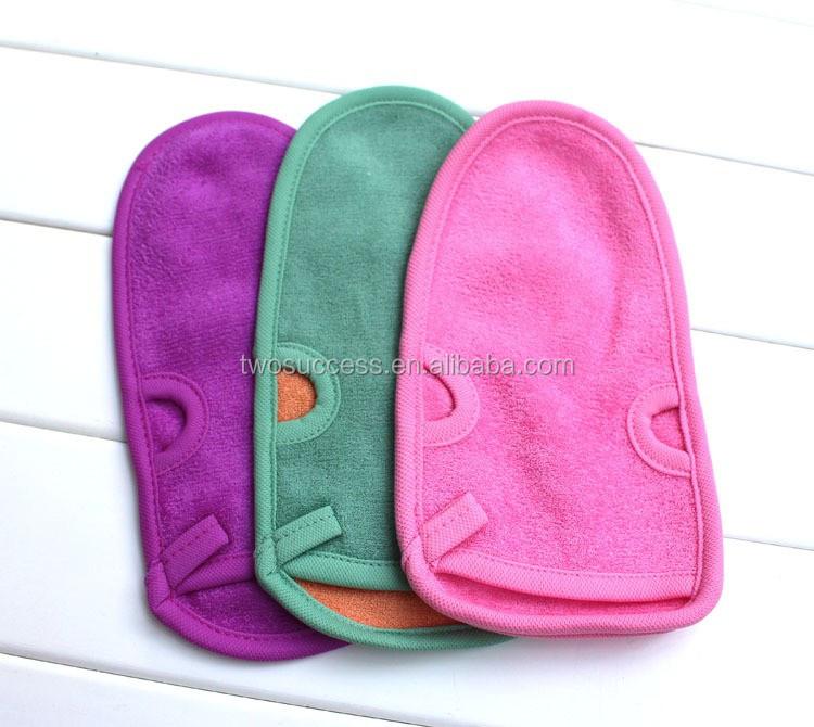 natural magic wash fiber hemp bath towel gloves (3)