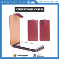 OEM New Mobile phone Protective cover PU flip case for iphone 6