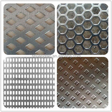 1*2m metal perforated checker plate & punched plate for decoration