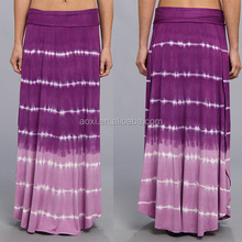 wholesale alibaba china supplier dongguan new style tie dye purple latest design women plus size clothing