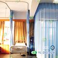 Hospital cortina de pantalla con techo montado de aluminio pista de la cortina