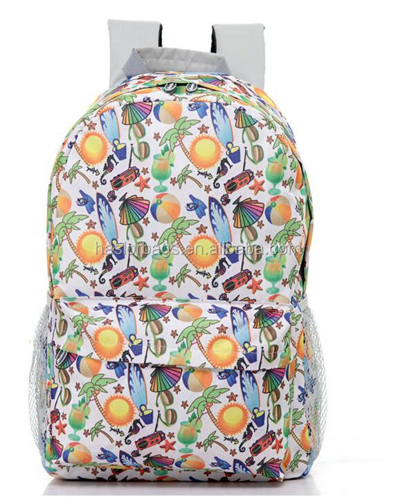 Dernière mode mignon sacs à dos pour lycée
