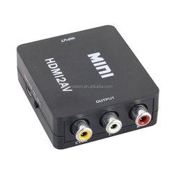 1080P HDMI to AV composite converter HDMI to 3RCA/CVBS converter