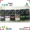 proveedor de china de telefonos celulares w800 dobles sim whatsapp