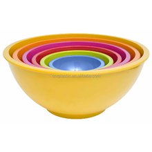 custom Colorways Plastic bowls, Plastic Mixing Bowls (6-piece set),custom Plastic Mixing Bowls manufacturer
