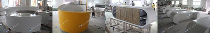 아크릴 인공 돌 회의실 회의 책상 현대적인 디자인 뜨거운 판매 ...