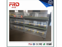 FRD-Hot Galvanized Automatic H-type Broiler Chicken Cage