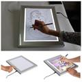 Niños / cabritos portátil dibujo tracing board con led