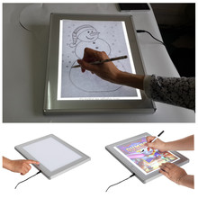 Children/Kids portable drawing tracing board with led
