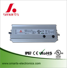 High efficiency 100w 1400ma 1200ma ip67 led driver constant current with CE ROHS