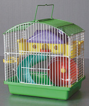 Iron pet house , hamster cage with house accessories 014