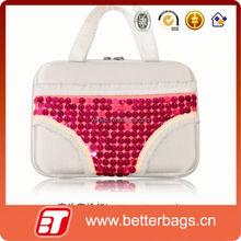 2015 woman storage box wholesale bra carrying bag