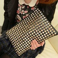 wholesale handbags and purses cheap wholesale handbags clutch studded bags E313